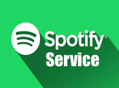 Provide Spotify Service